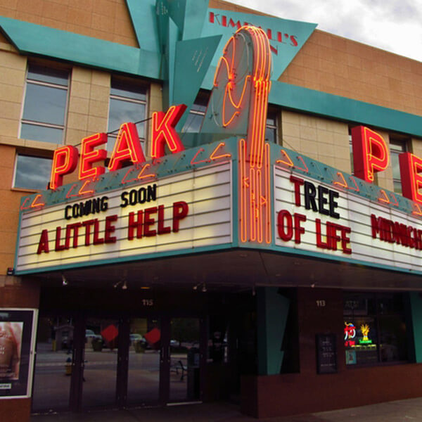 Kimball's Peak Three Theaters