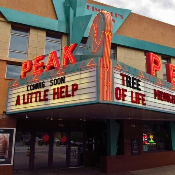 Kimball's Peak Three Theaters