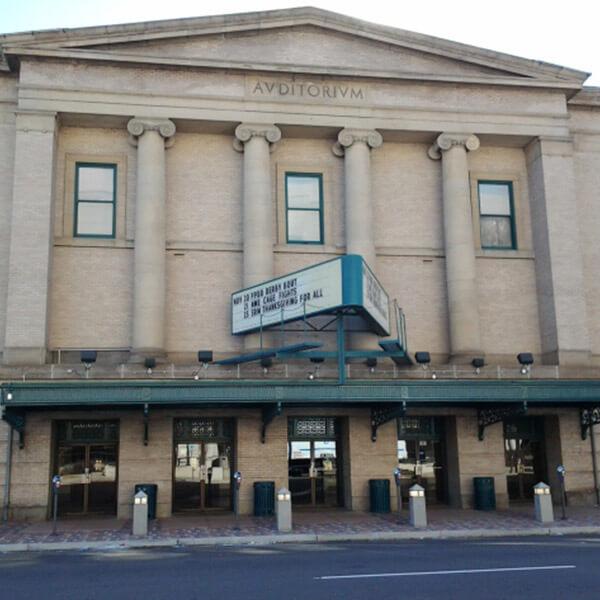 City Auditorium & Lon Chaney Theatre