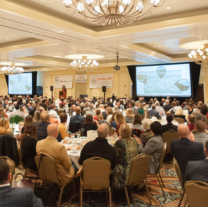 21st ANNUAL DOWNTOWN PARTNERSHIP BREAKFAST