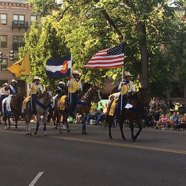 Pikes Peak or Bust Rodeo Parade