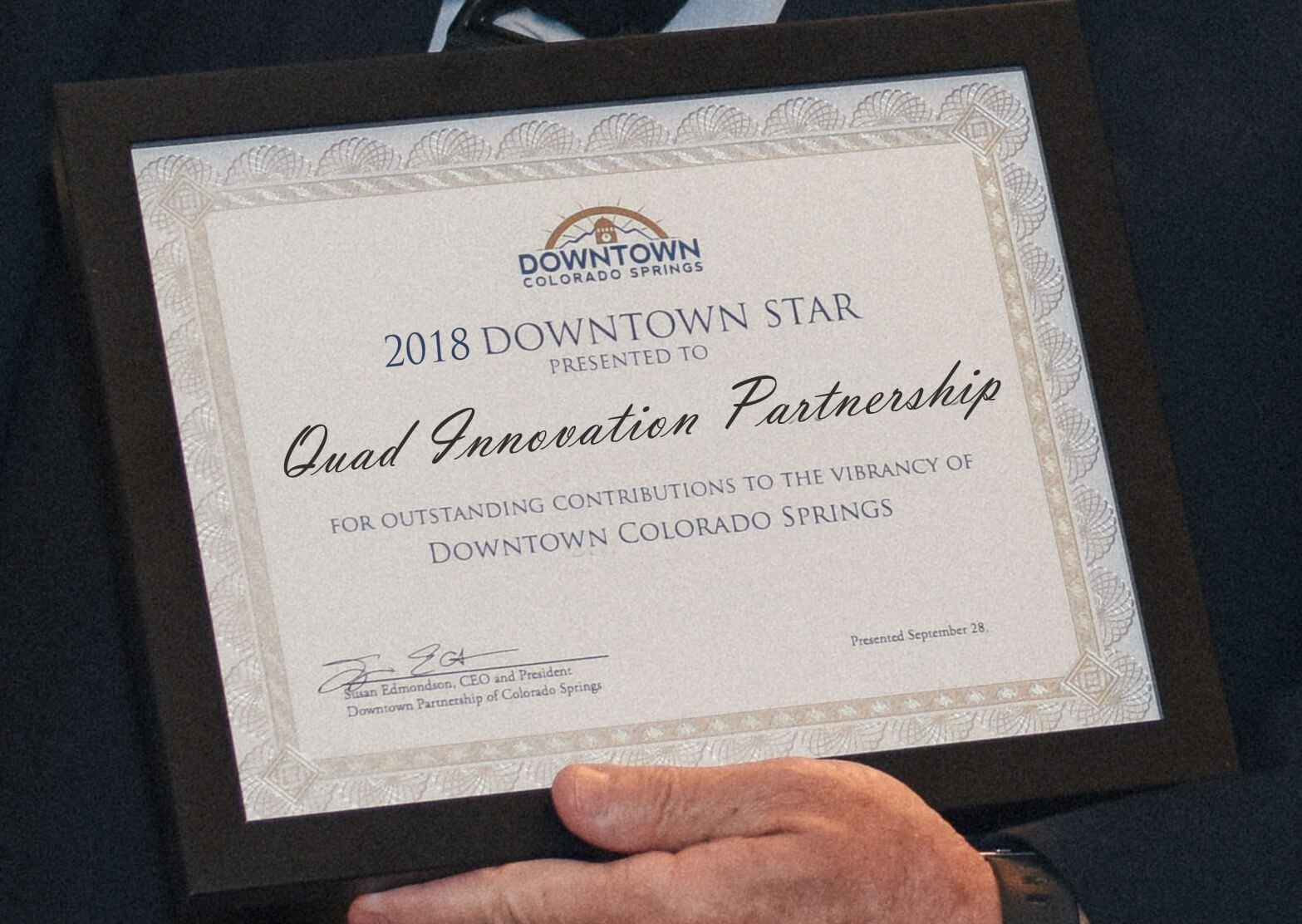 2018 Downtown Star Recipients Downtown Partnership Of Colorado Springs