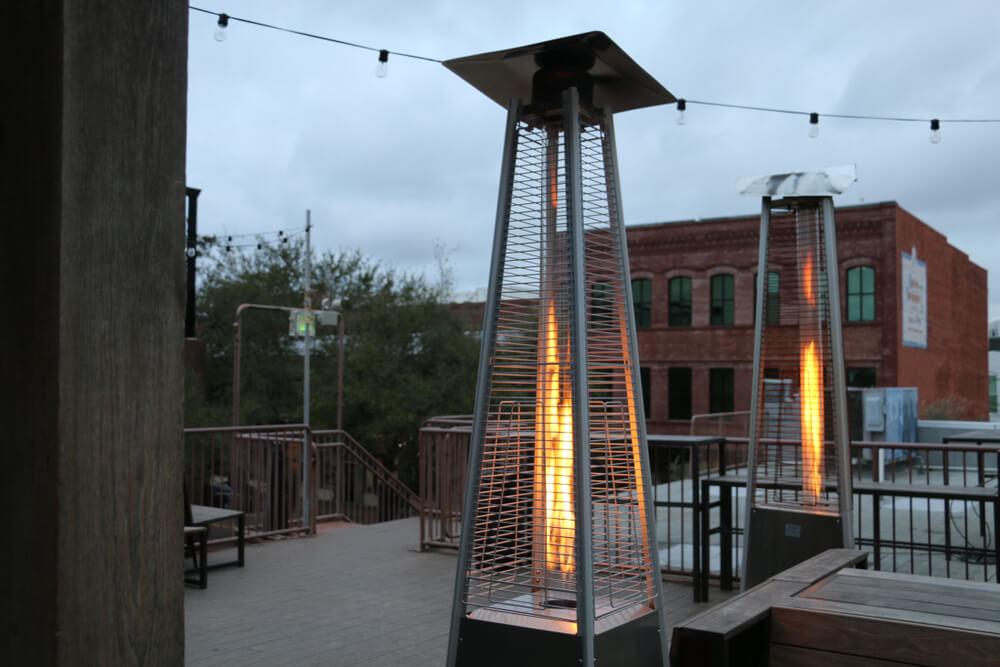 Outdoor heater grants for restaurants